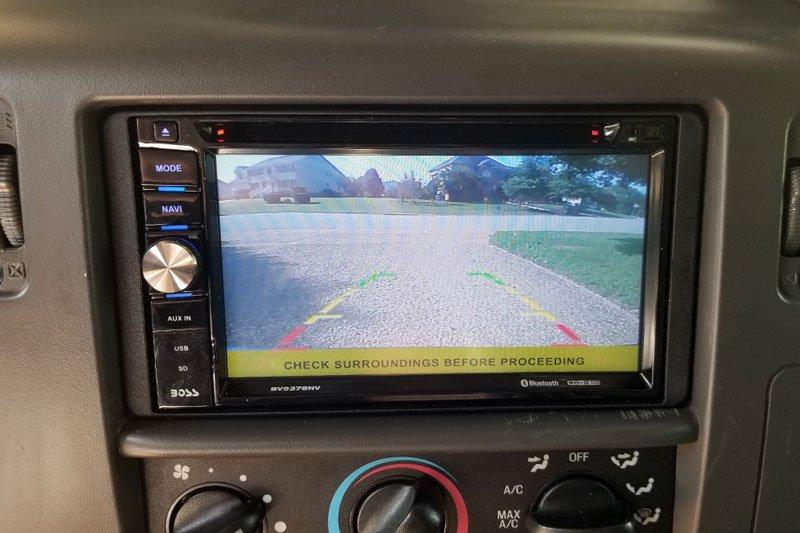 Headunit Backup Camera