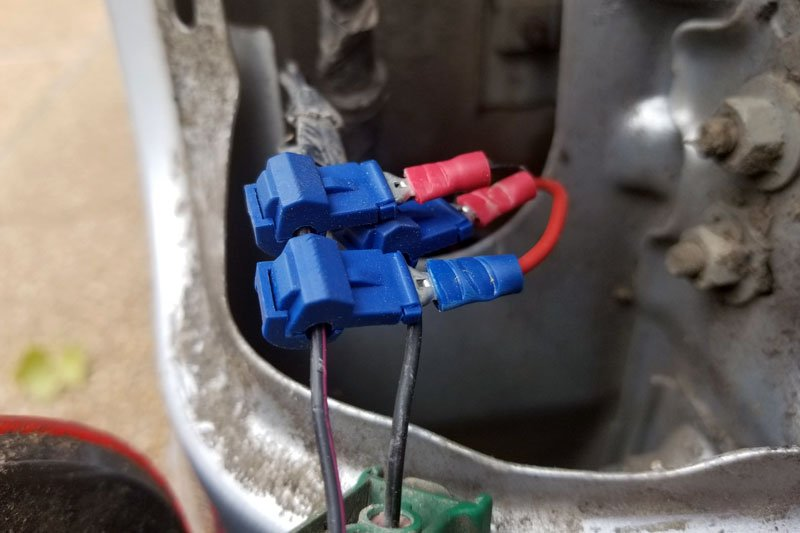 Reverse Wire Splicing