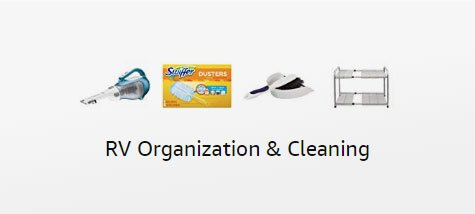 RV ORganization and Cleaning