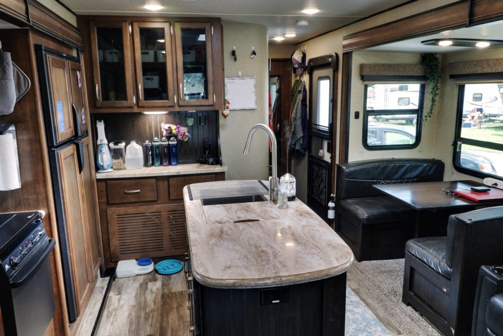 RV Tour - Living Room Part 1