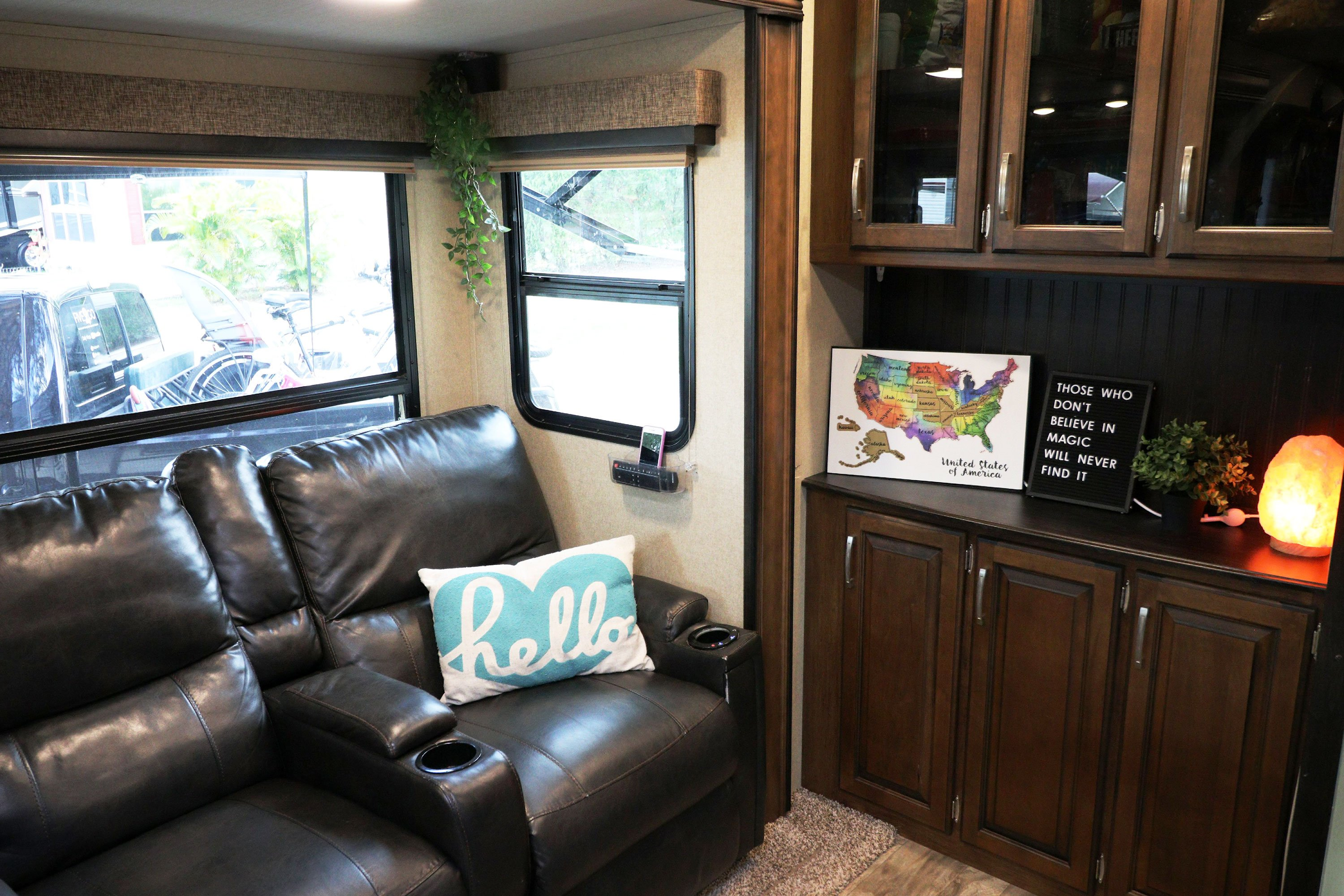 RV Tour - Living Room Part 3