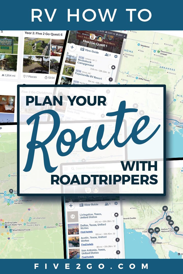 RV Route Planning with Roadtrippers