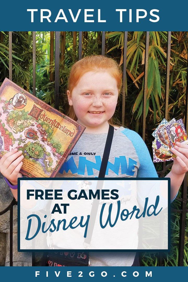 Free Games at Disney World