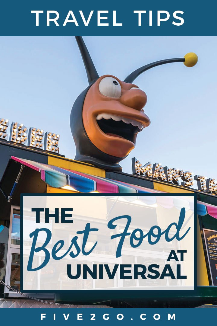 The Best Food at Universal Studios
