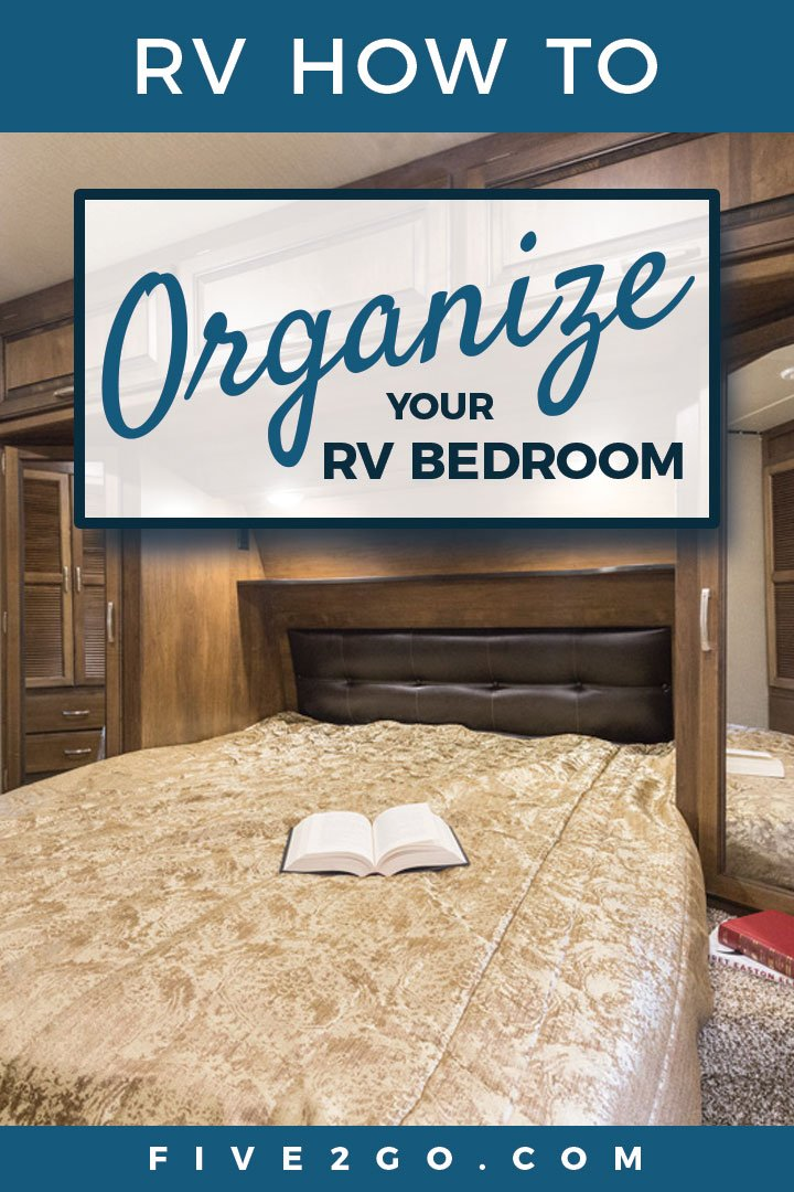 How To Organize your RV Bedroom