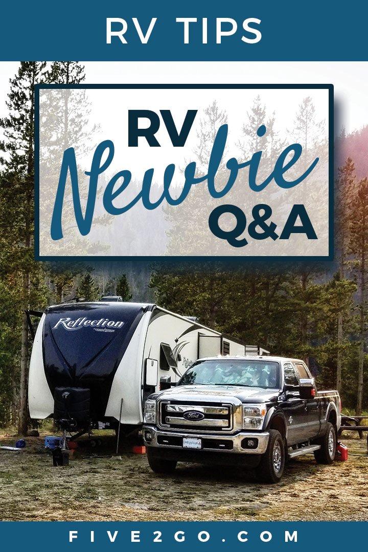RV Newbie Q&A