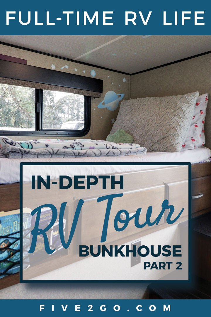 In-Depth RV Tour | Bunkhouse Part 2