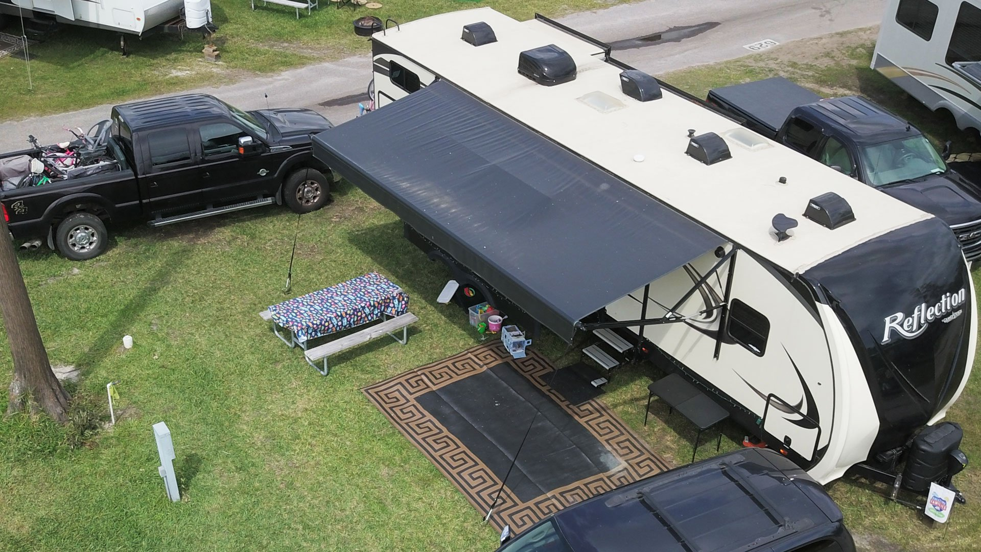 RV Leveling and Setup