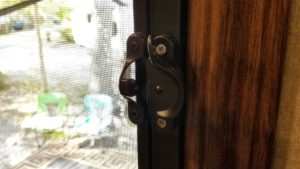 Sash Lock on RV Door