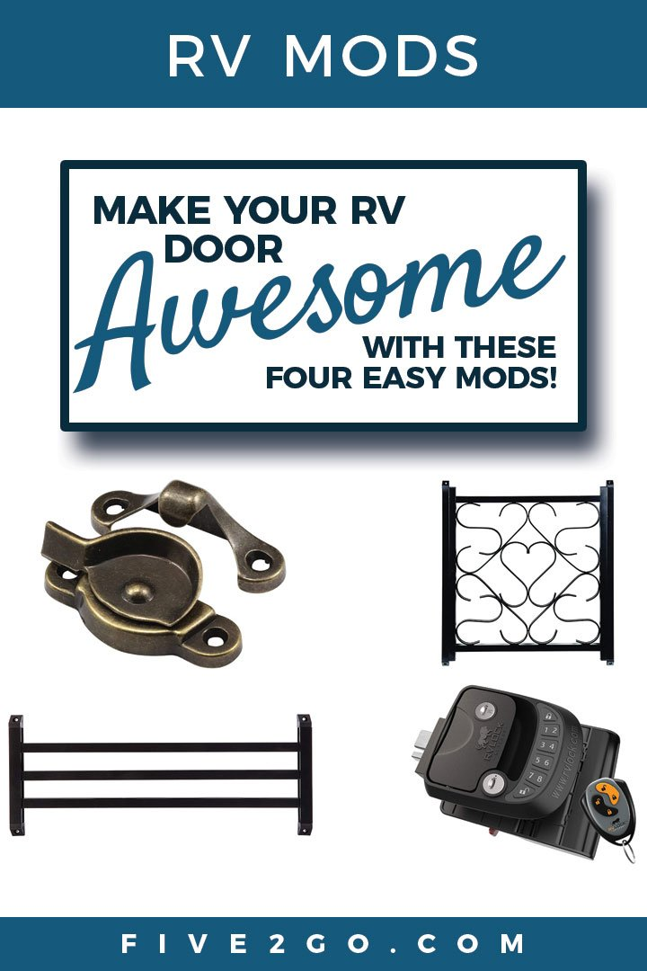 4 Ways To Make Your RV Door Awesome