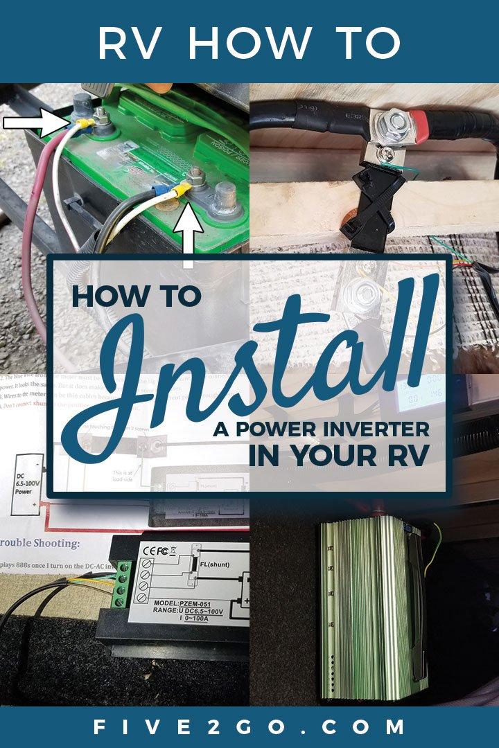 RV Inverter Install
