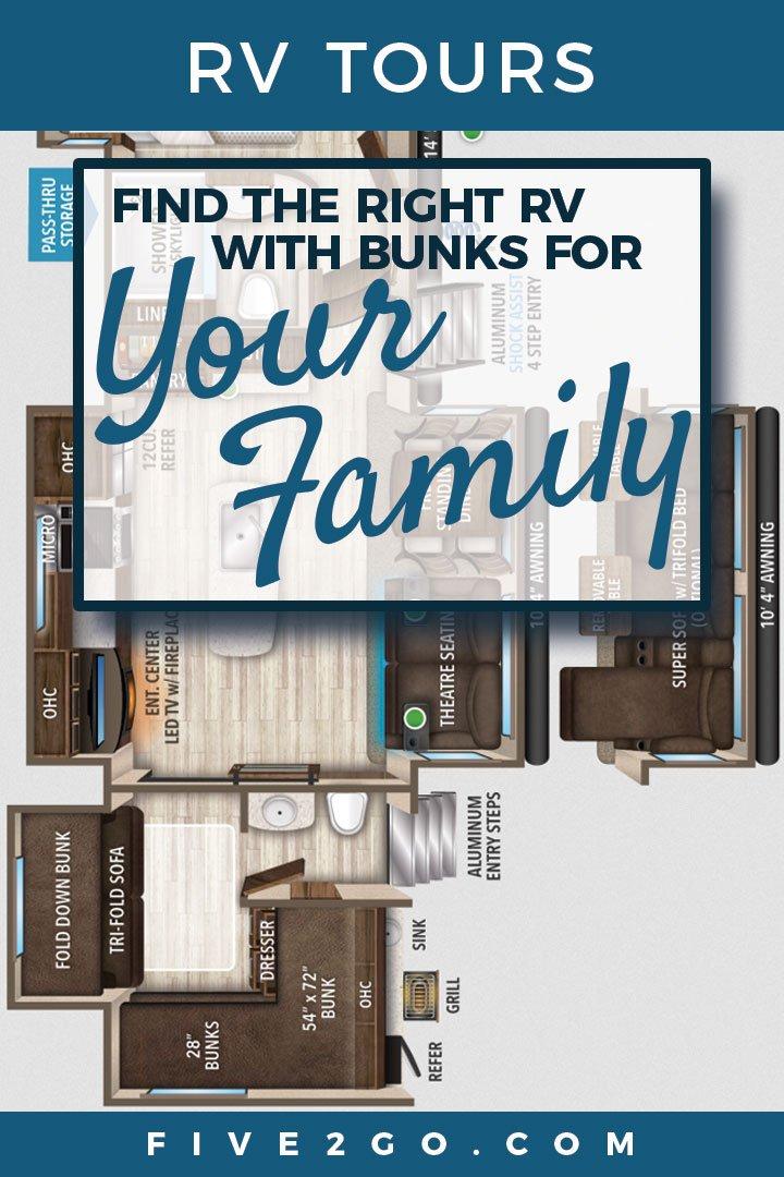 Grand Design RV Bunkhouse Tours
