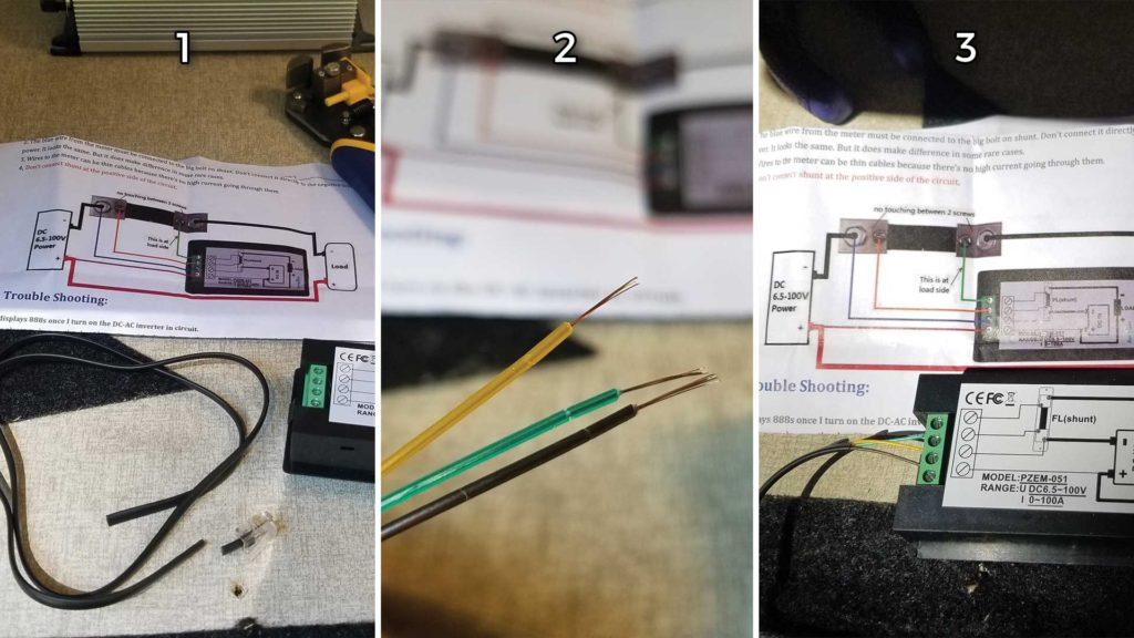 RV Power Meter Wiring