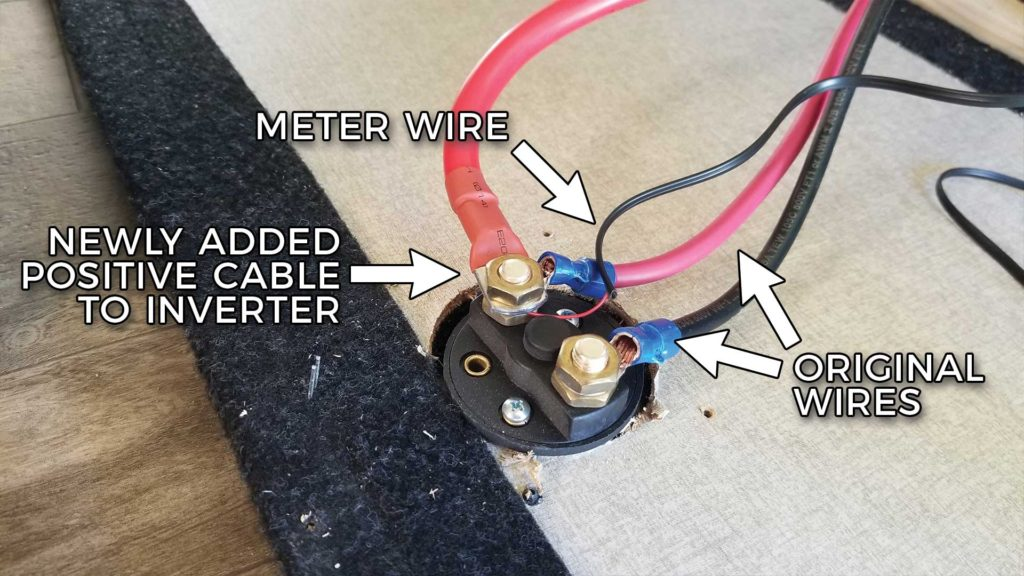 New RV Cut-Off Switch Wiring