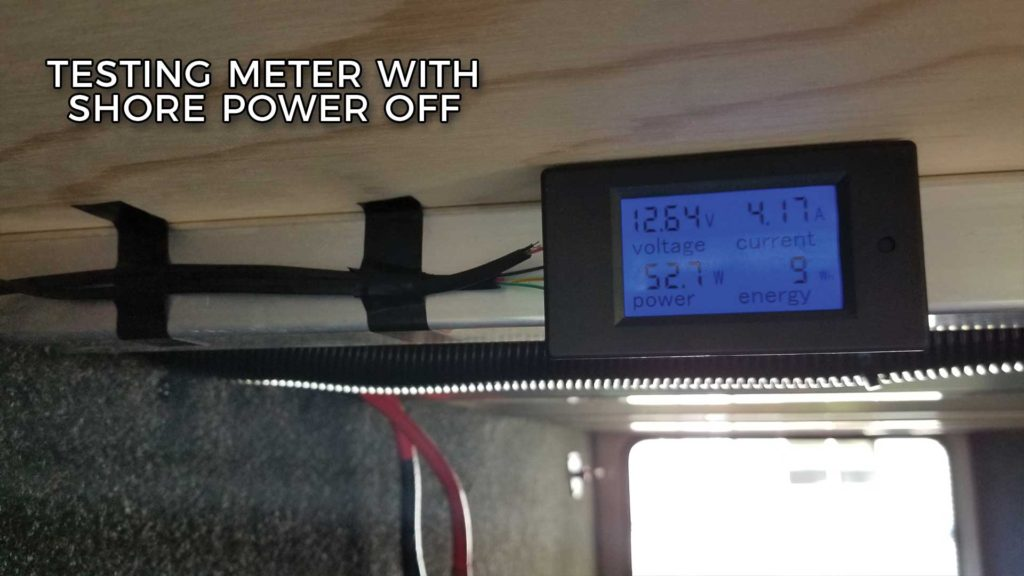 RV Power Meter Testing