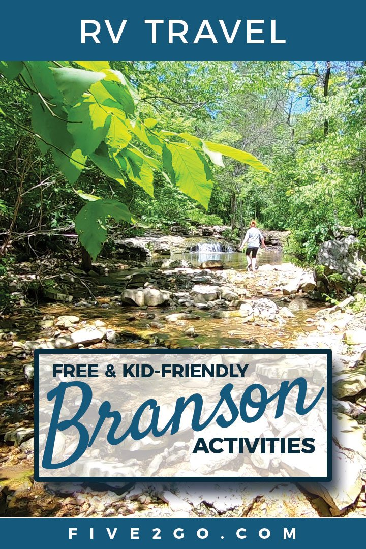 Branson Fun for FREE! Waterfall Hike + Moonshine Beach