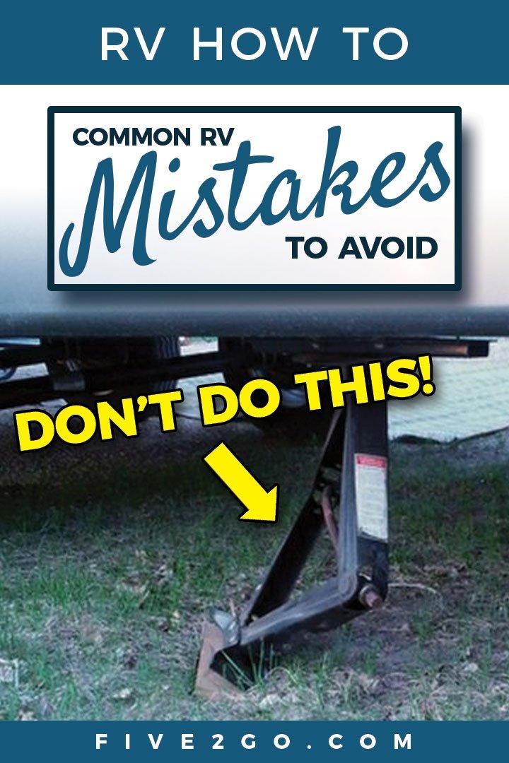 RV Mistakes to Avoid