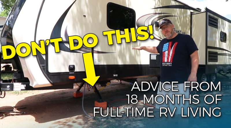 RV Mistakes to Avoid