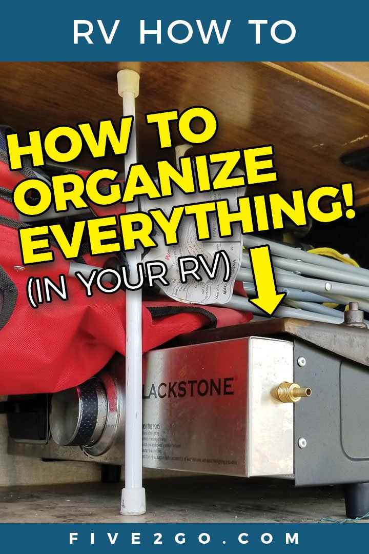 How To Organize Everything In Your RV