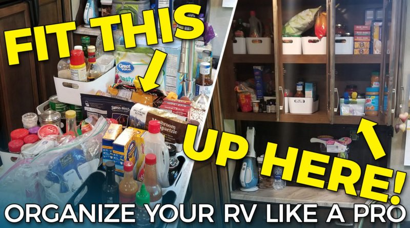 Organize Your RV Like a Pro