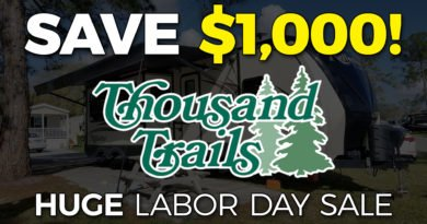 Thousand Trails Labor Day Sale 2019
