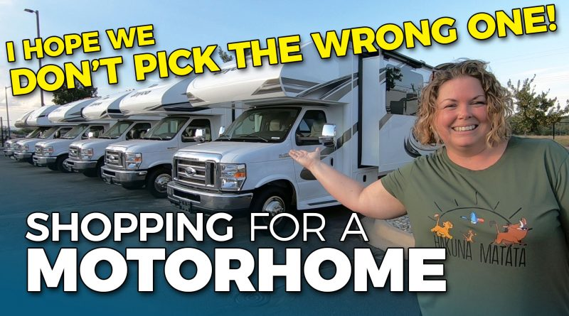 Finding a Small Motorhome for a Family of Five