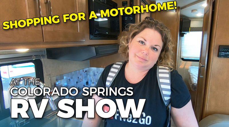 Motorhome Shopping at the Colorado Springs RV Show