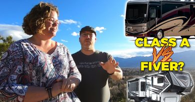 Motorhome vs Fifth Wheel Q and A