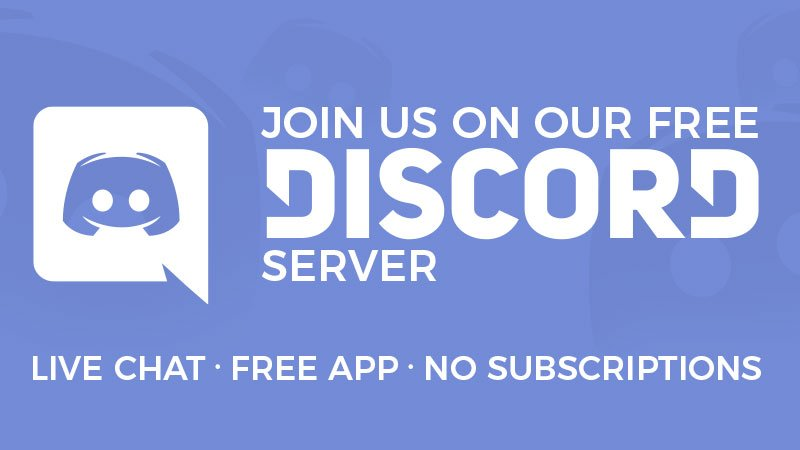 Chat With Us on Discord