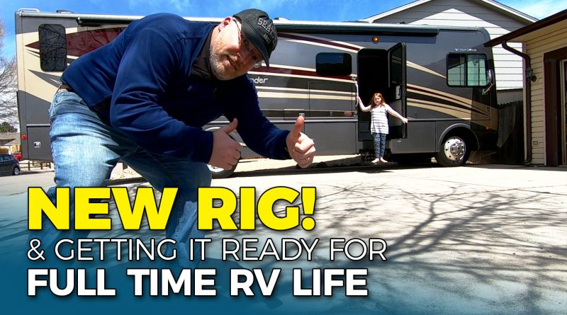 Setting Up Our Motorhome