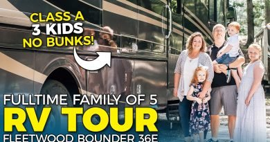 Tour Our Fulltime Family Motorhome RV