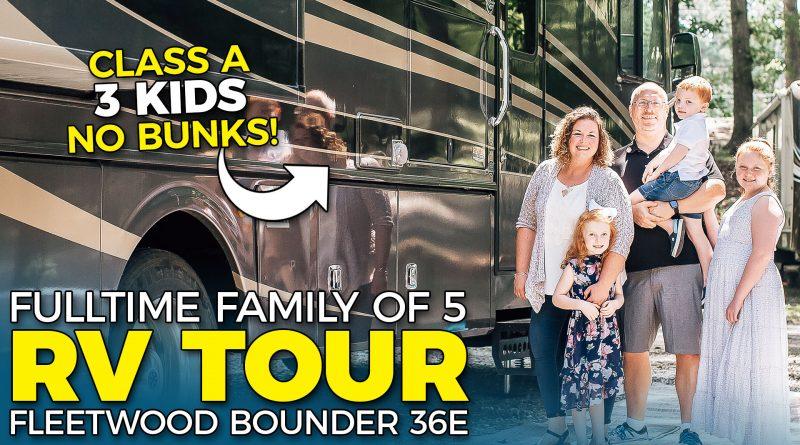 Tour Our Fulltime Family Motorhome RV