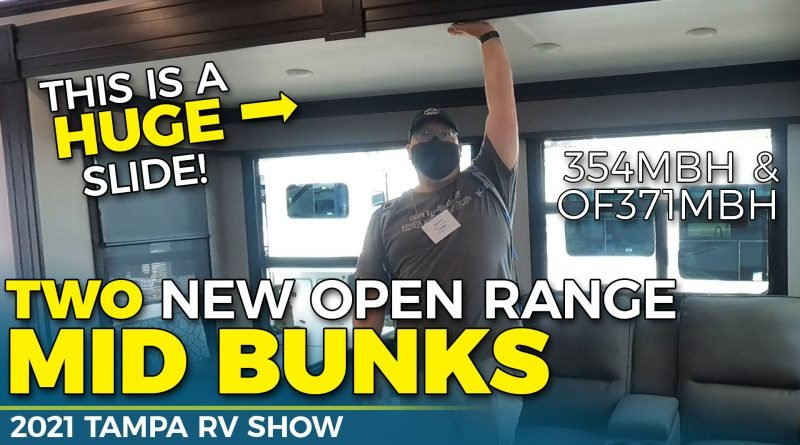 Highland Ridge Open Range Mid Bunk RV Tours