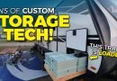 AWESOME RV Tech and Storage Hacks in an Imagine 2800BH