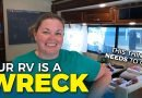 RV Organization and Renovation – Fulltime RV Day in the Life