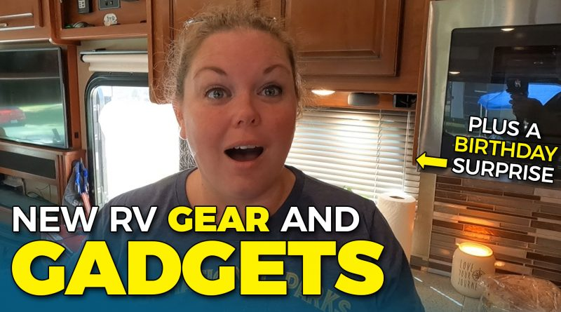 RV Gear for Security, Comfort, and Storage