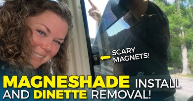 Magneshade Install and Dinette Renovation