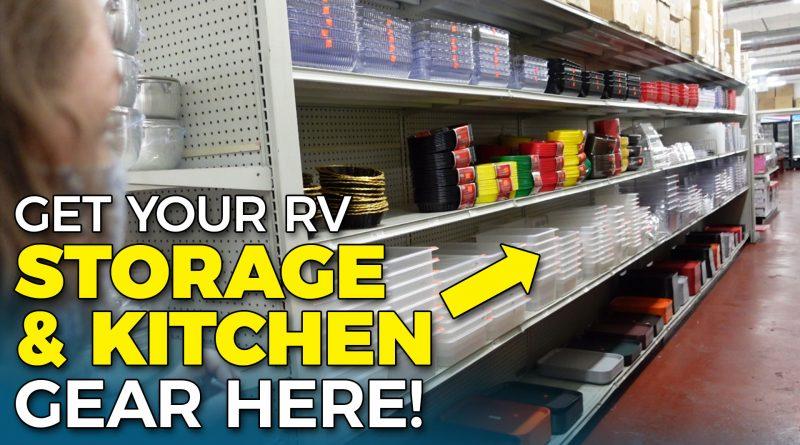 AMAZING RV STORAGE and Kitchen Gear